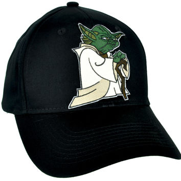Jedi Master Yoda Hat Baseball Cap Alternative Clothing The Force