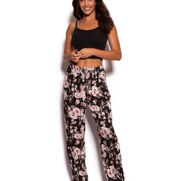 Japanese Garden Long Pant - Floral