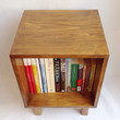 Mid Century Nightstand, Made To Order, Retro Nightstand, Record Storage, End Table, Bedside Table, Wooden Table, Modern Shelf, Scandinavia