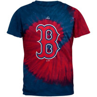 Boston Red Sox - Logo Spiral Tie Dye T-Shirt