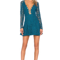 Style Stalker Love Bomb Dress in Teal
