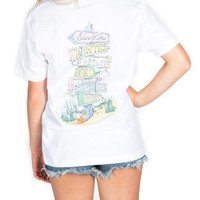 Lauren James - All Roads Lead South T-Shirt