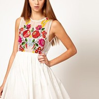 Alice McCall Dress with Digital Printed Floral Motif at asos.com