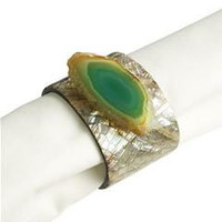 Pier 1 Imports - Product Details - Green Shell Napkin Ring