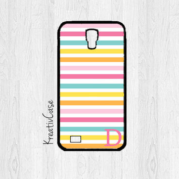 Samsung Galaxy S4 Case, S4 Case, Stripe Phone Case, Personalized Phone Cover - K194