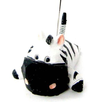 Zebra Cute Animal Photo Stand Memo Holder | Home Decor