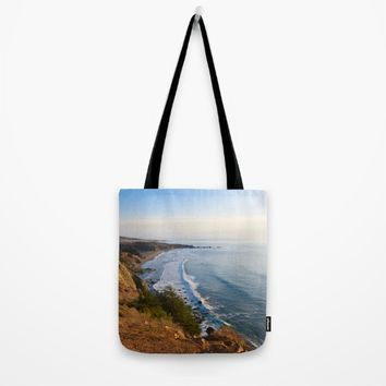 Big Sur, California Coast Tote Bag by leahdaniellle