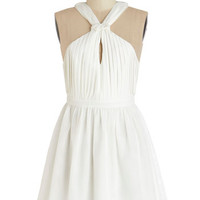 ModCloth Mid-length Sleeveless A-line Best Date Ever Dress