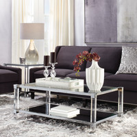Reese Aubergine Living Room Inspiration look on @ZGallerie