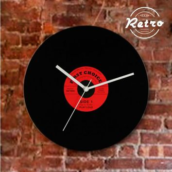 Retro Disco Wall Clock