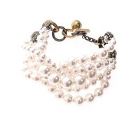 Gloria pearl twist bracelet | Lanvin | MATCHESFASHION.COM