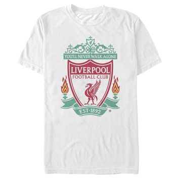 Liverpool FC  - YNWA White T-Shirt