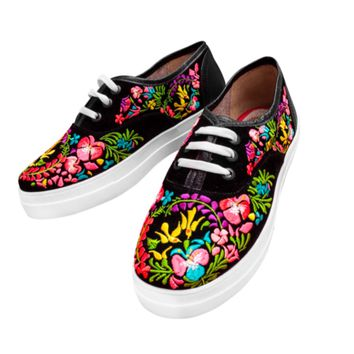 Mexican Embroidered Sneakers