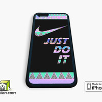 Just Do It Aztec Pastel iPhone Case 4, 4s, 5, 5s, 5c, 6 and 6 plus by Avallen