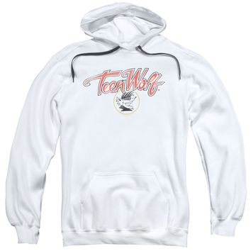Teen Wolf - Poster Logo Adult Pull Over Hoodie