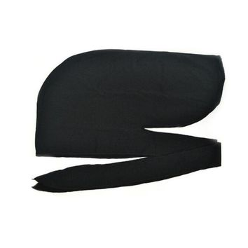 Sports Hat Cap trendy  BTLIGE Men's Durag Bandanna Sports Scarf Head Rap Tie Down Band Biker Cap Fashion Spandex King'S Durag Hats & Caps Men KO_16_1