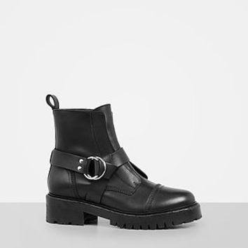 ALLSAINTS US: Womens Erika Military Boot (Black)
