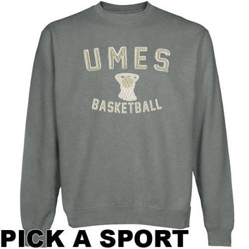 Maryland Eastern Shore Hawks Legacy Sweatshirt - Gunmetal