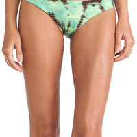 Blue Life Island Fever Cheeky Bottom in Green