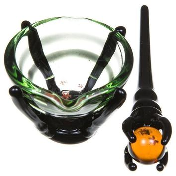 Empire Glassworks Dragon Master Dish and Dabber Set