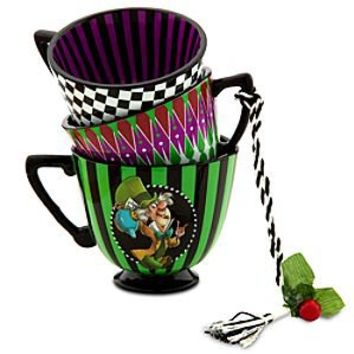 Alice in Wonderland Tea Cup Ornament - The Mad Hatter | Disney Store
