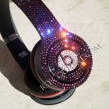 Bling Your Wireless BEATS by DRE with Swarovski Crystals