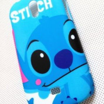 3D Cute Lovely Stitch Alien Hard Case Cover For Samsung Galaxy Light SGH-T399 (T-Mobile)