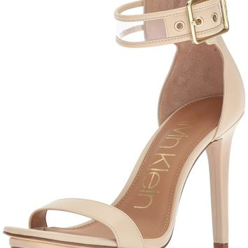 Calvin Klein Women's Vable Heeled Sandal