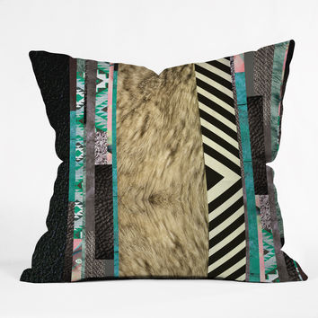 Kei Eudoxie Throw Pillow