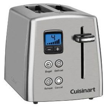 Cuisinart® 2 Slice Compact Toaster - Stainless Steel CPT-415
