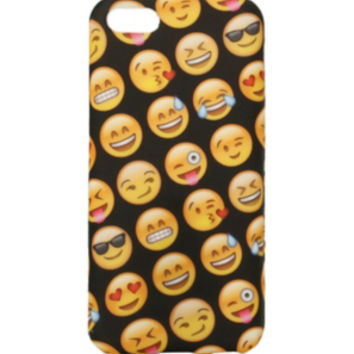 Emoji Faces Anti Shock iPhone 5c Case