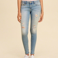Girls Low-Rise Super Skinny Jeans | Girls Bottoms | HollisterCo.com