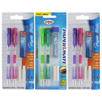 Papermate Clearpoint Assorted Mechanical Pencils (Pack of 6) | Overstock.com Shopping - The Best Deals on 0.7mm Pencils