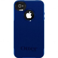 OtterBox Commuter Series Case for iPhone 4/4S - Frustration-Free Packaging - Blue/Navy