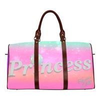 Pink Girly Large Waterproof Travel Bag/Large