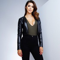 WantMyLook Corina Cropped Jacket
