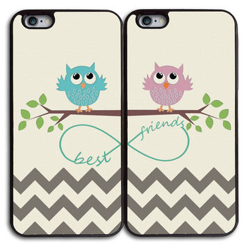 Cute phone cases,Cute Owls Best Friends Matches Case for iPhone and Samsung Series