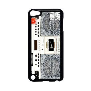 DCCKHD9 Nike Air Jordan Radio Boombox iPod Touch 5 Case