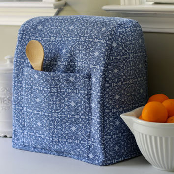 KitchenAid Stand Mixer Cover / Cozy   Blue by LeighVinson on Etsy