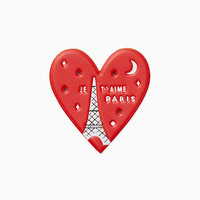 ashe place leather heart sticker | Kate Spade New York