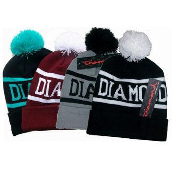 DCCKHQ6 Diamond Supply Co Beanie Knitted hat