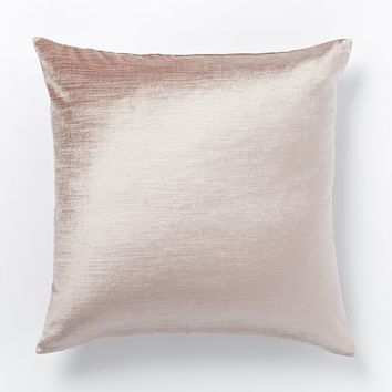 Cotton Luster Velvet Pillow Cover