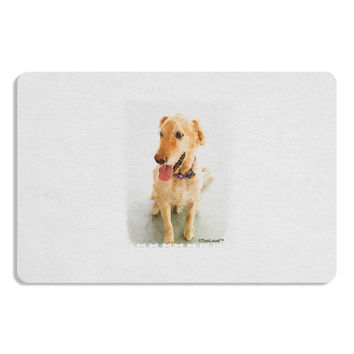 Golden Retriever Watercolor Placemat