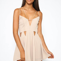 Knight Divine Playsuit - Beige
