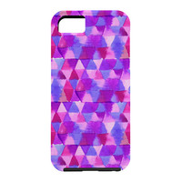 Joy Laforme Kaleidoscope In Purple Cell Phone Case