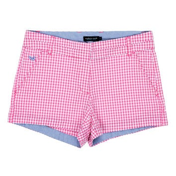 Gingham Brighton Short in Pink by Southern Marsh - FINAL SALE