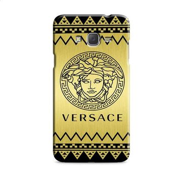 Versace Chevron Gold Edition Samsung Galaxy J7 2015 | J7 2016 | J7 2017 Case