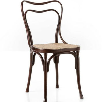 Adolf Loos Cafe Museum Bentwood Side Chair (Cane) by GTV