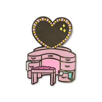 Vanity Glow in the Dark Pin