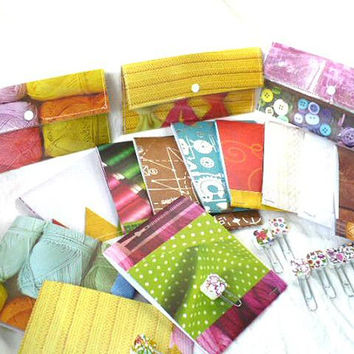 Budget Cash Envelope System Starter Set, Wallet Notebook Planner Clip, Budget Envelope System, Laminated Wallet Snap Closure Set of 3